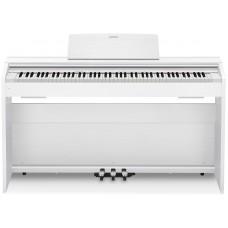 Casio Privia PX-870WE белое цифровое фортепиано с взвешенной клавиатурой